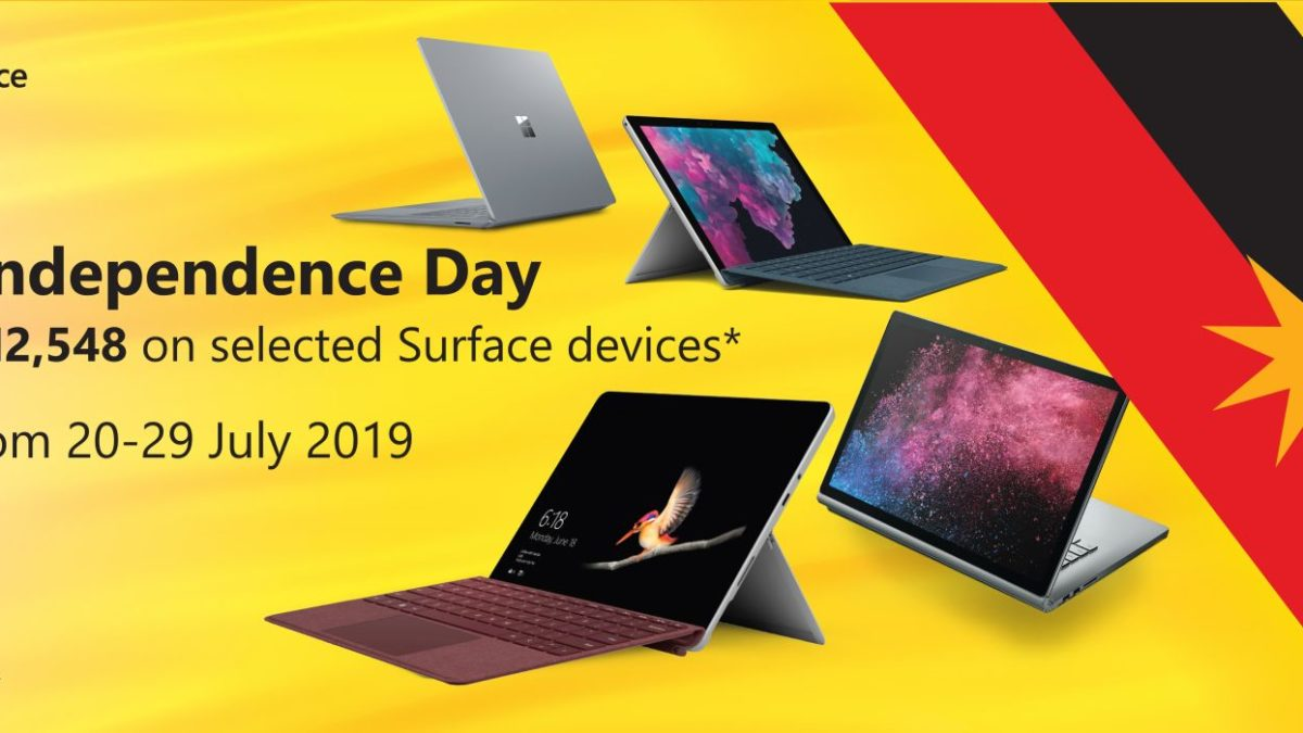 Surface Devices Sarawak Independence Day Promo 20 29 July 2019 Pc Image