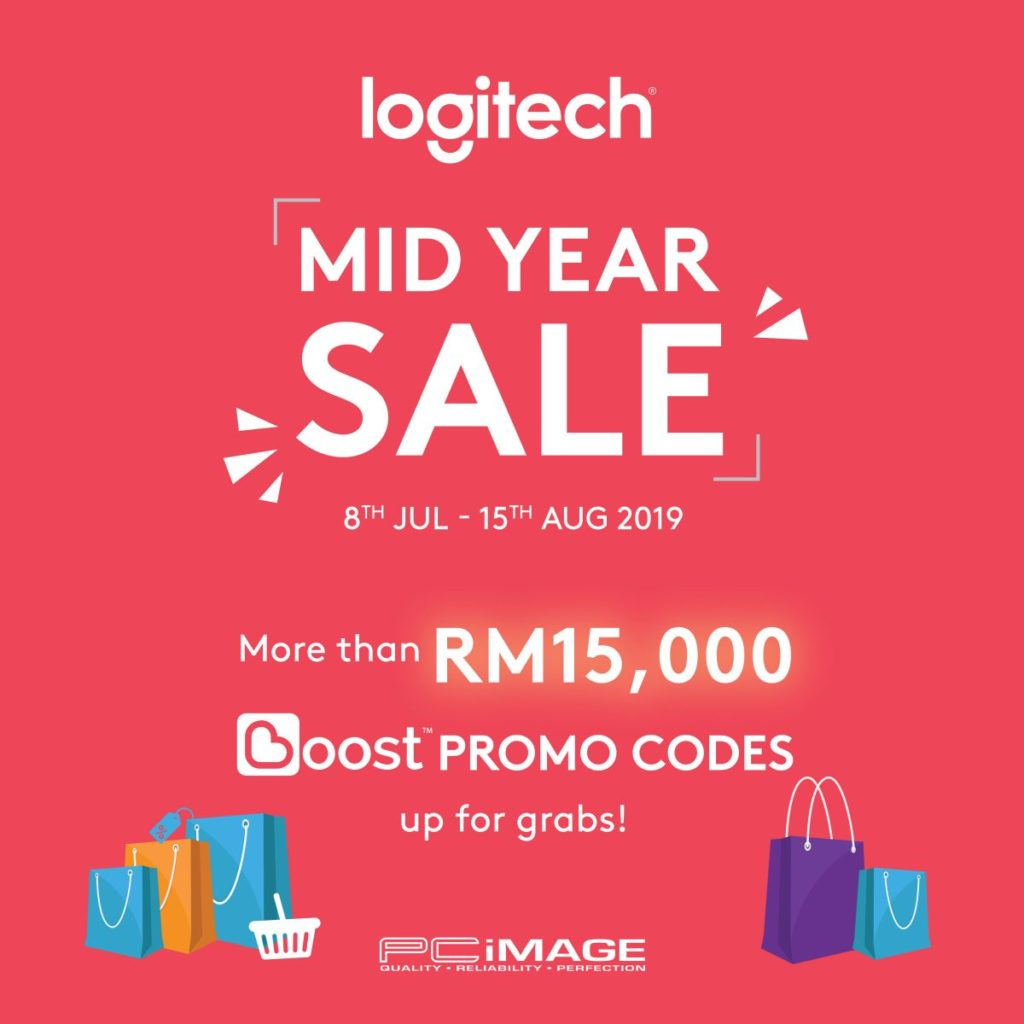 Logitech Mid Year Sale x Boost Promo Codes