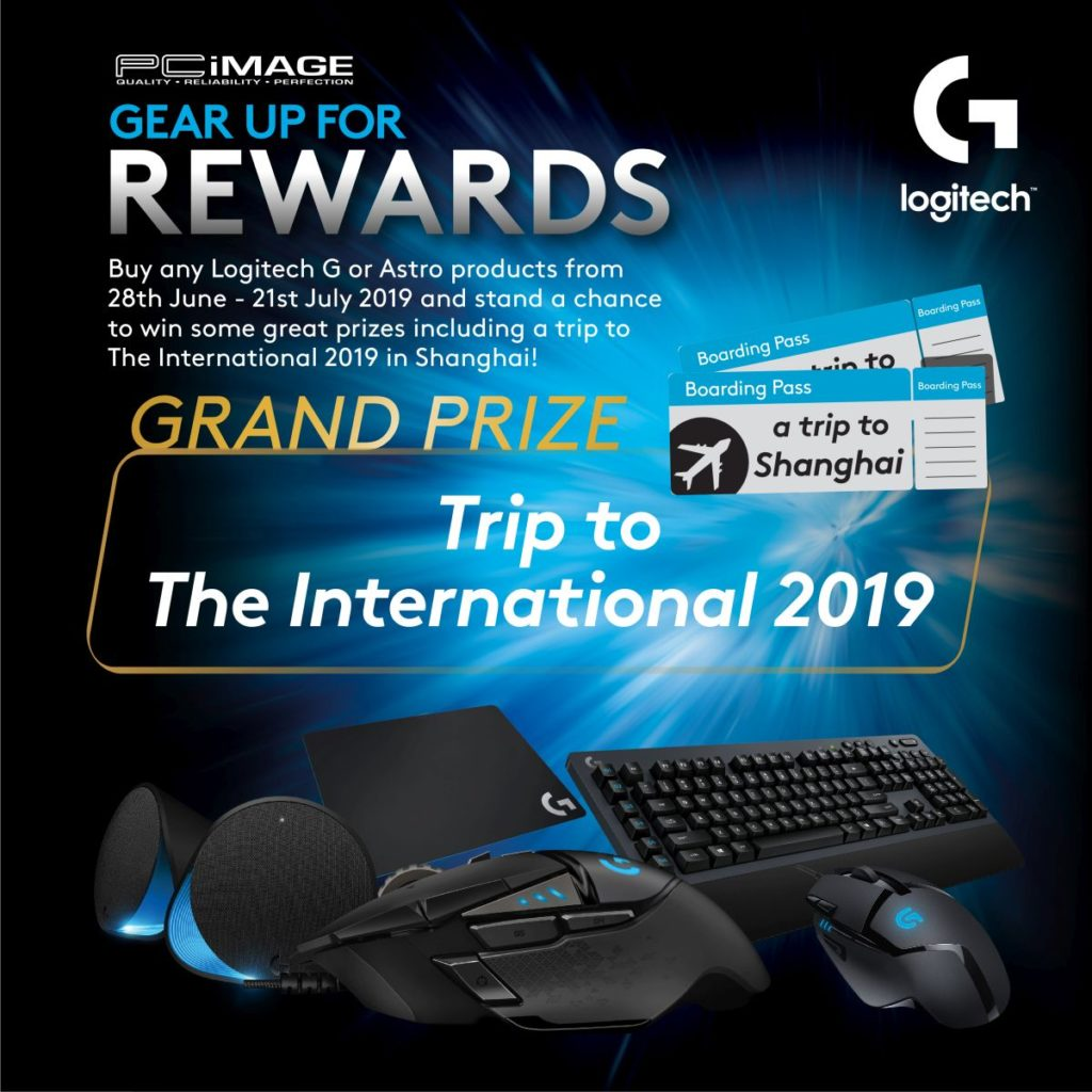 Logitech Gear Up For Rewards