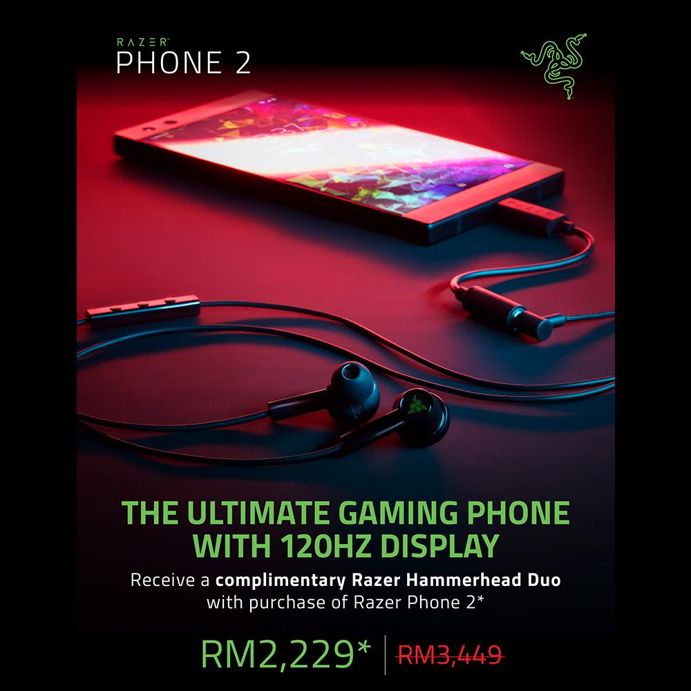 Razer Phone 2 July Promo