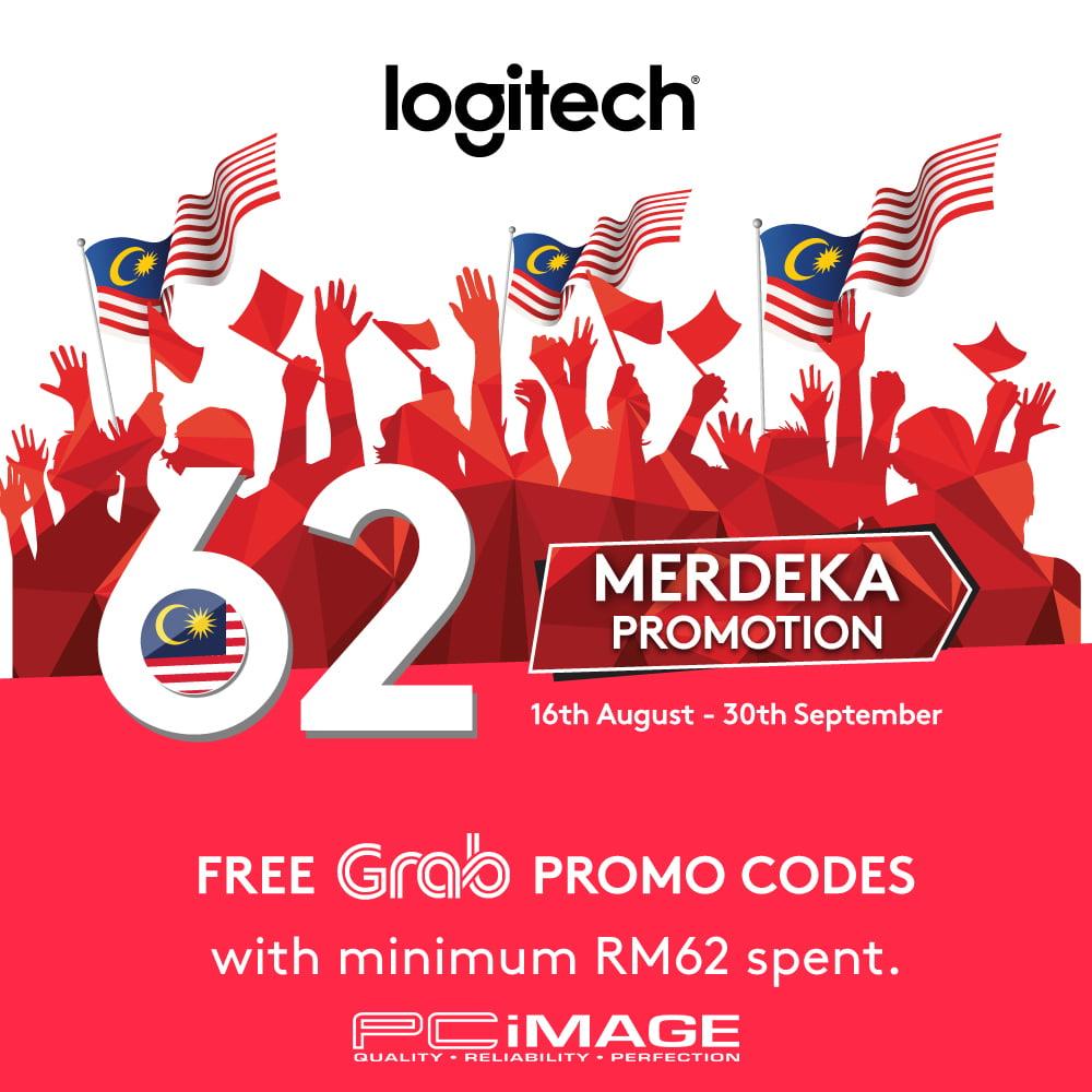 Logitech Merdeka Promo x Grab