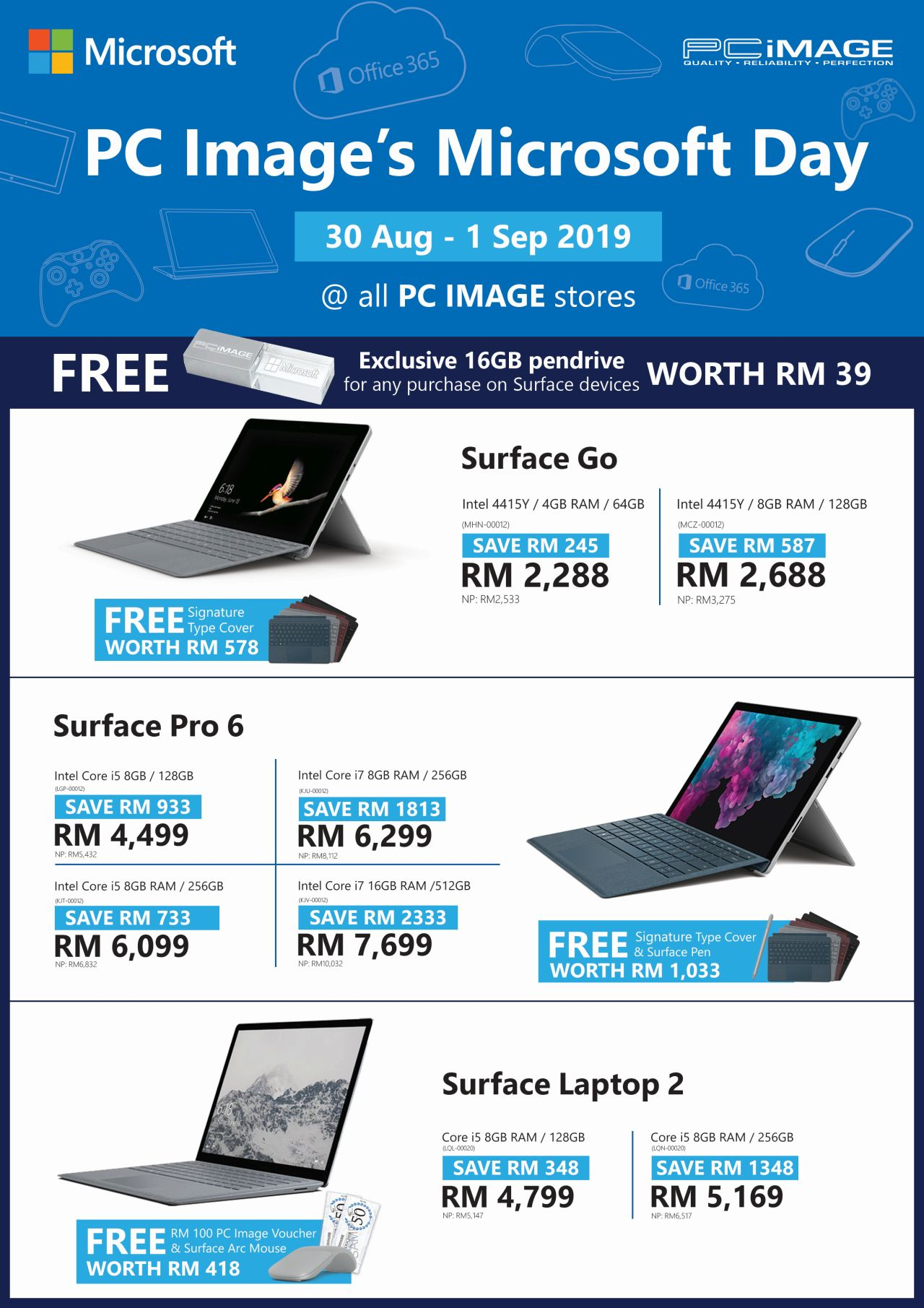 PC Image Microsoft Day 2019 Flyer
