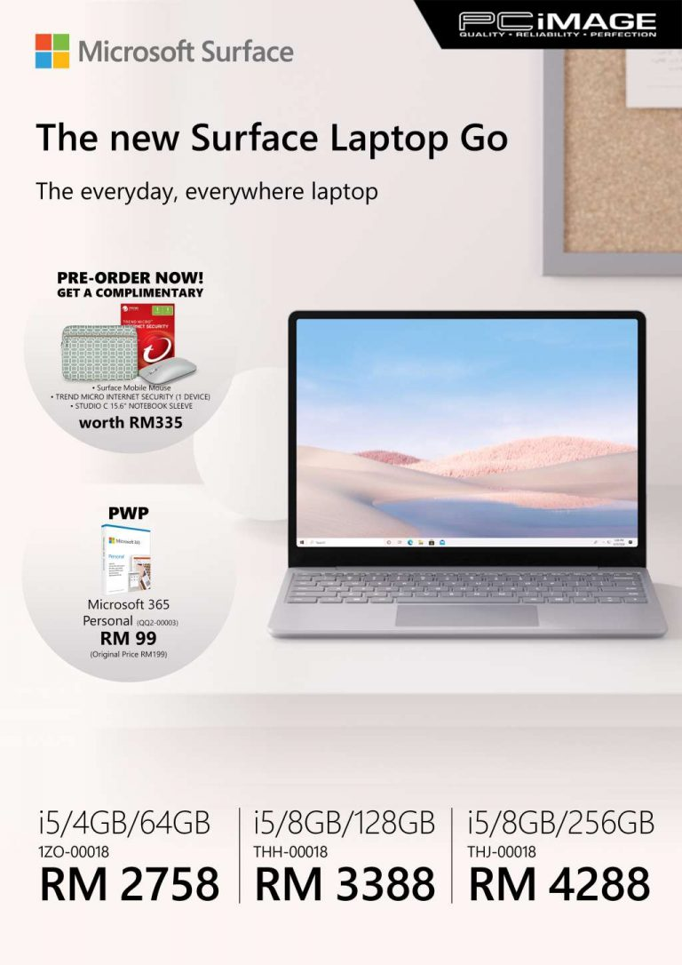 Microsoft surface laptop go malaysia price