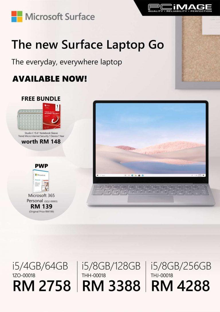 Surface Laptop Go @ PC Image Malaysia