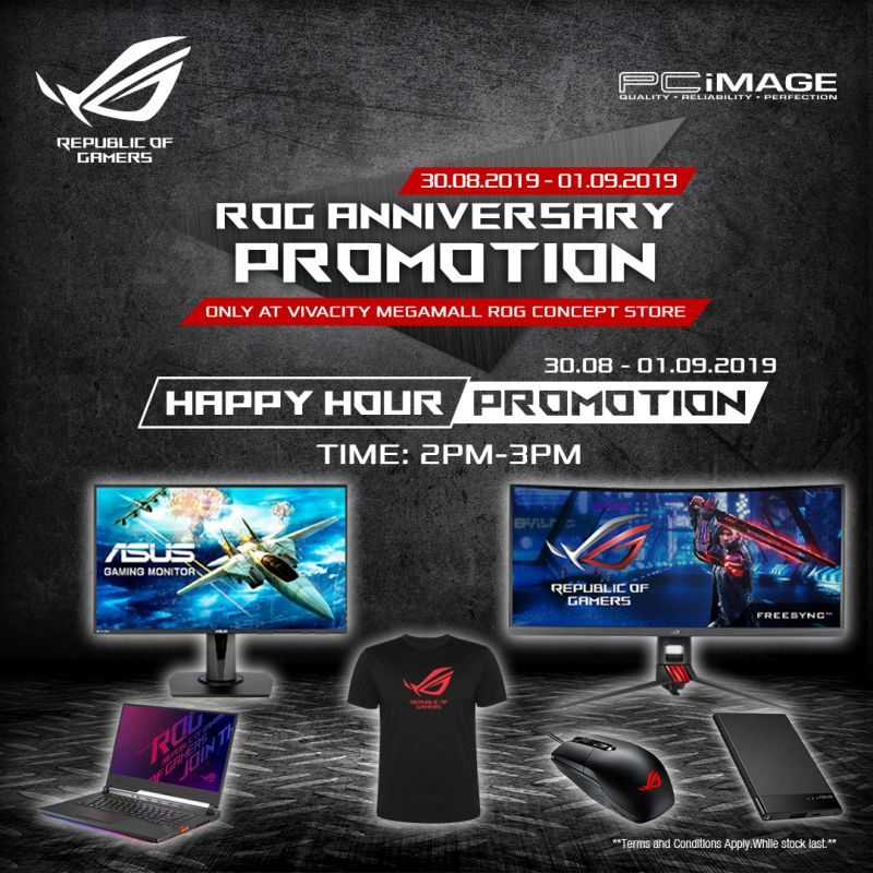 ROG Anniversary Promotion - Happy Hour