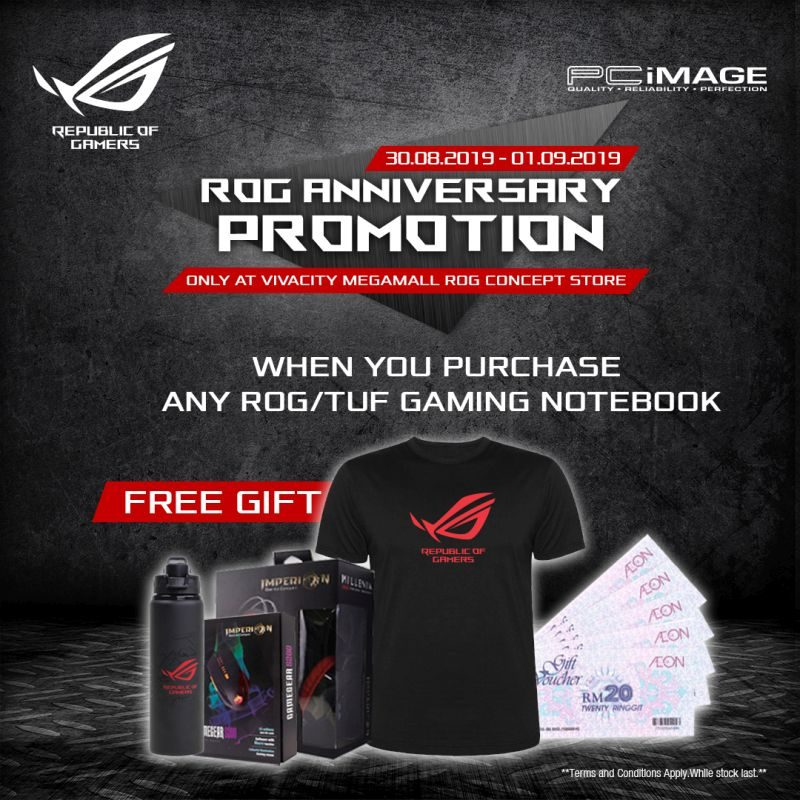 ROG ANNIVERSARY PROMOTION facebook gaming series promo
